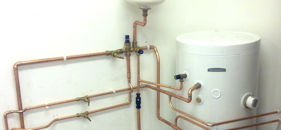 System Boiler & Unvented Cylinder Installation - 4 Bedroom House.